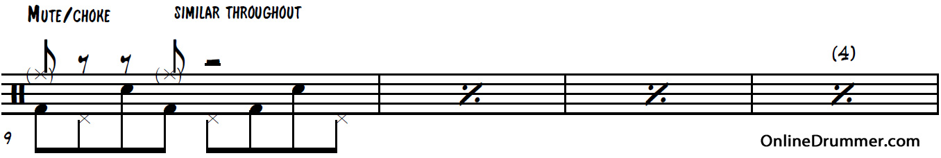 Drum drum chords for thinking out loud : Thinking Out Loud – Ed Sheeran – Drum Sheet Music | OnlineDrummer.com
