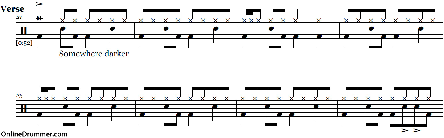 All Music Chords somewhere in time sheet music : Why'd You Only Call Me When You're High? – Arctic Monkeys – Drum ...