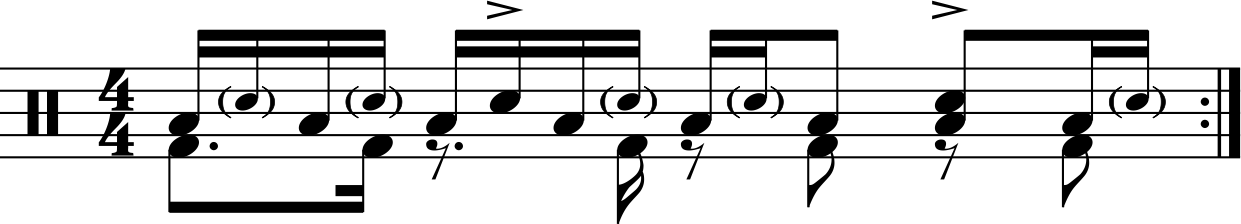 Cool Tom and Snare Groove