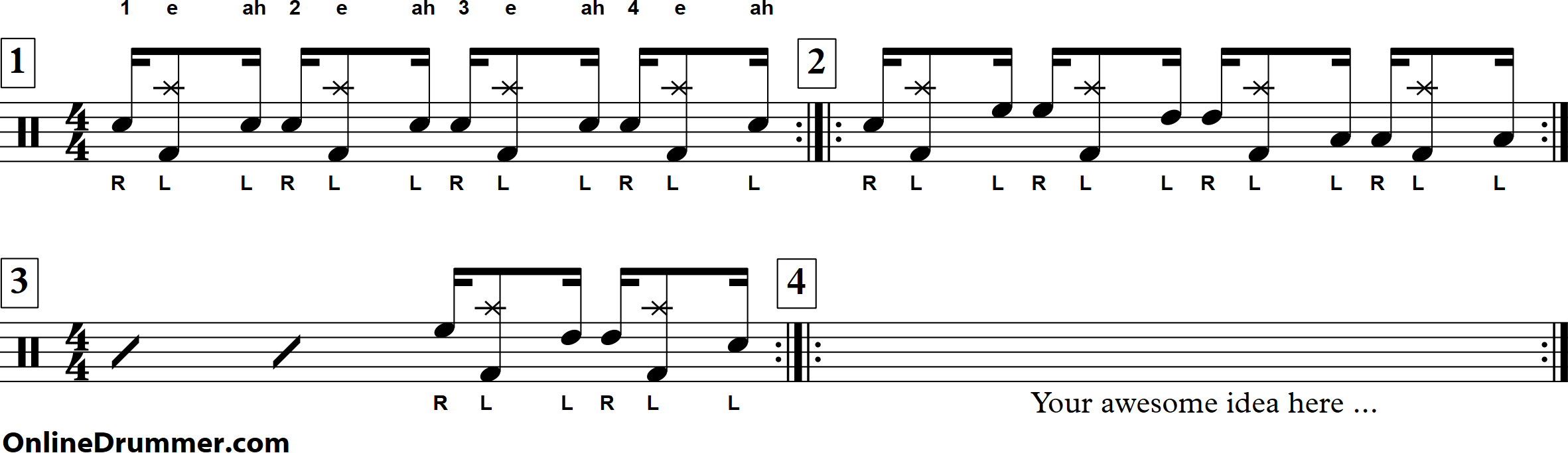 Drum Fill #7 - Keeping It Syncopated