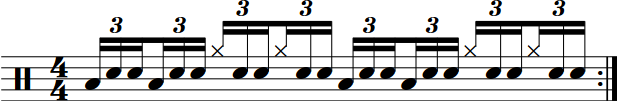 Triplet Crossover Groove