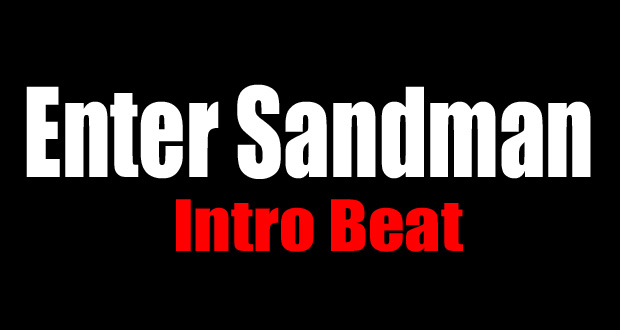 Drum Lessons u2013 How To Play Enter Sandman Intro Beat : OnlineDrummer.com