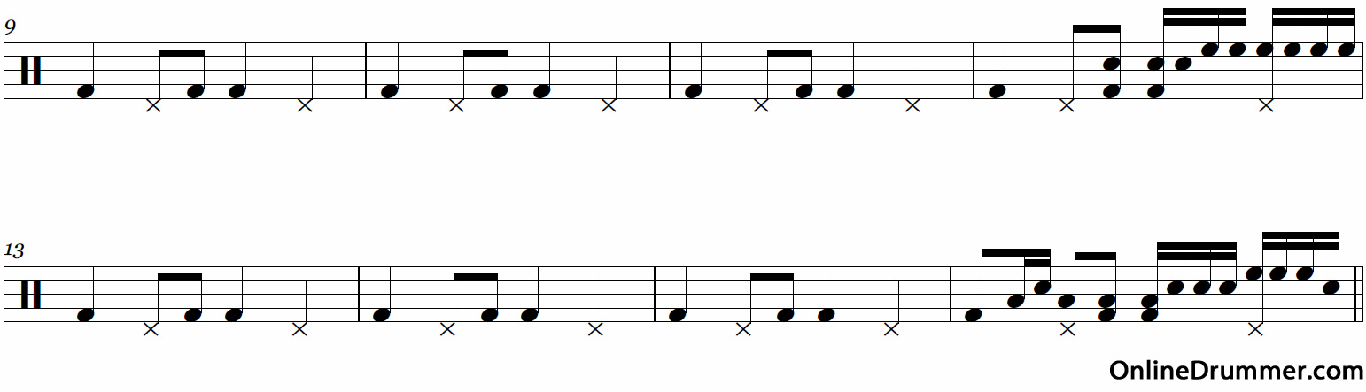 Drum Fill From Rehab
