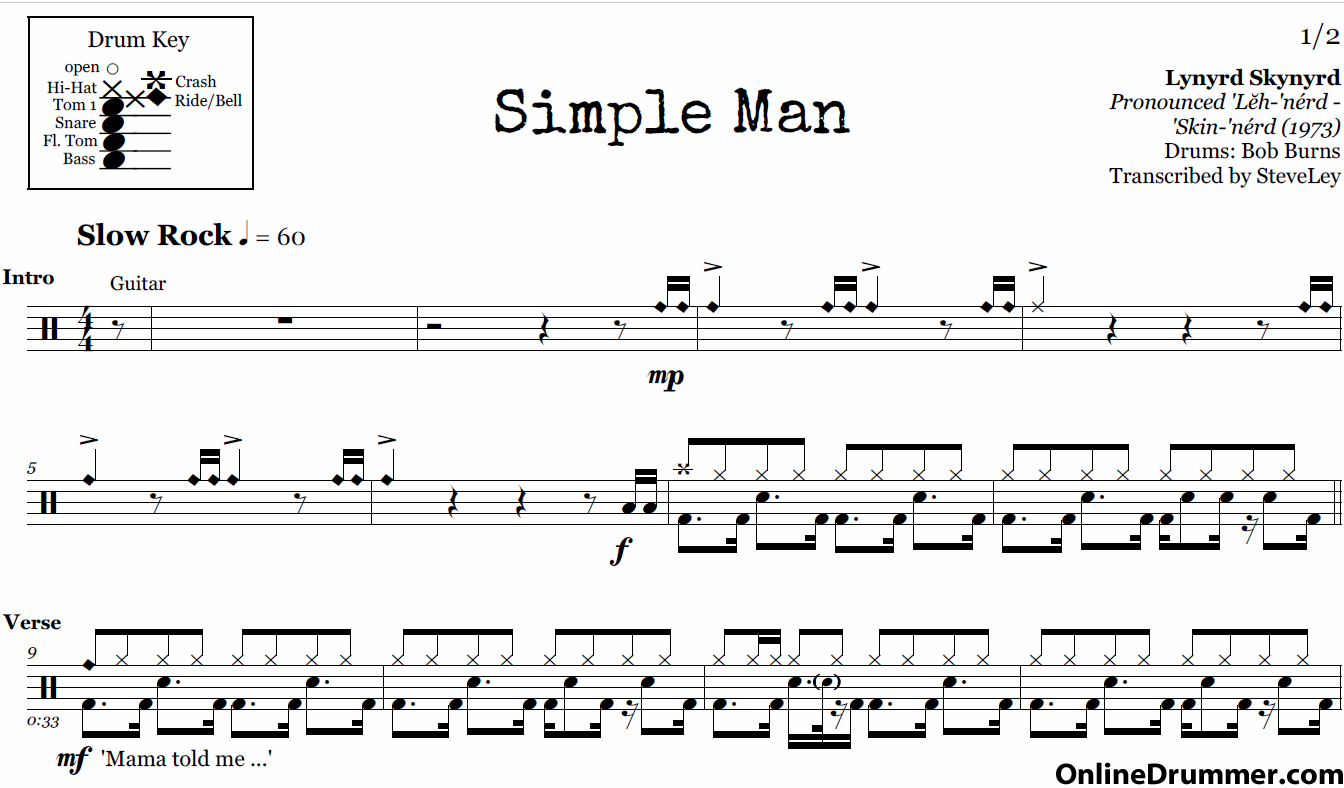 Invaluable image regarding free printable drum sheet music