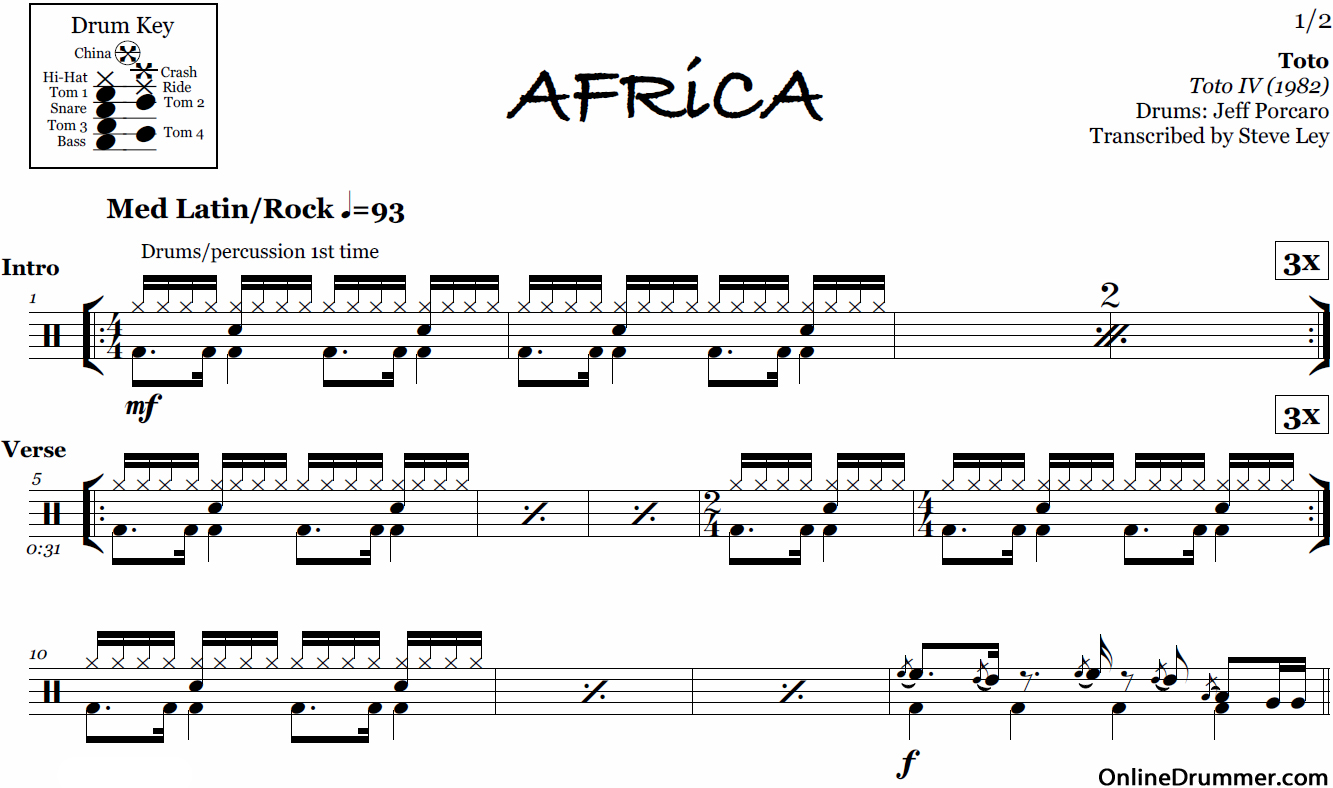 Make Drum Sheet Music Online Free - rock band drums pc virtual drumming online drum game genesis ...
