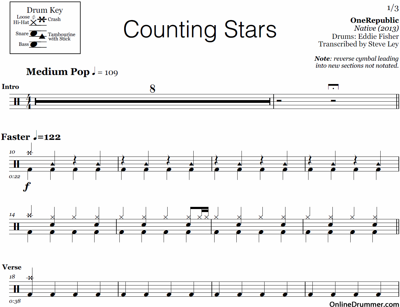 Drum Sheet Music For Pop Songs - drum transcription archives nick s lessonsrolling in the deep ...