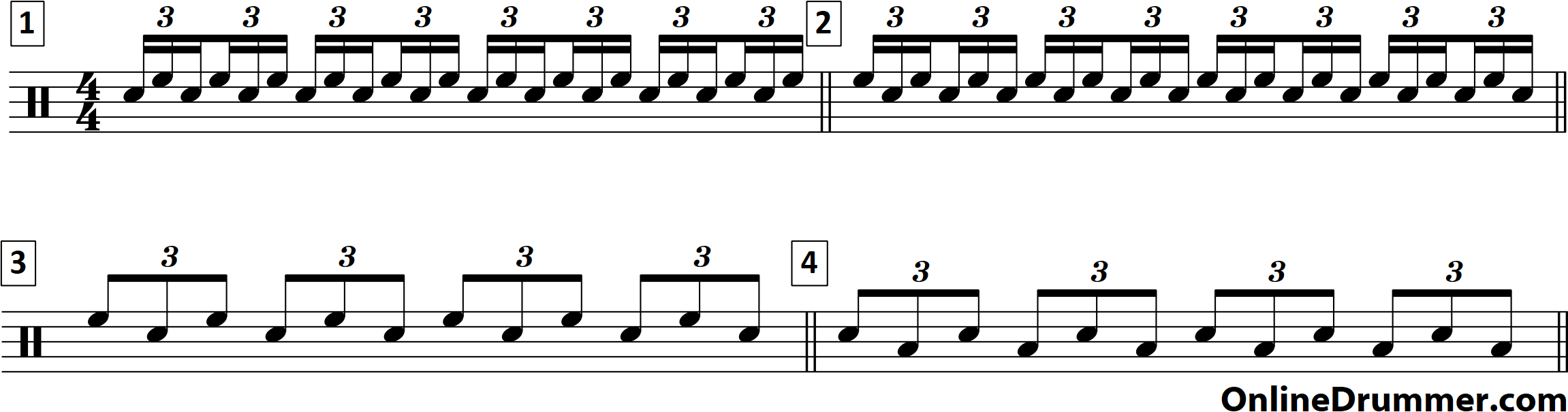 Simple, Head-turning Drum Fill