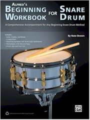 Alfreds Beginning Workbook For Snare Drum