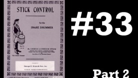 Beats From Stick Control #33 – Part 2