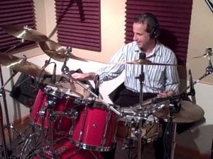 "Drummer Todd Walker Studio Performance ""Spain"""
