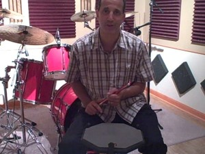 Drummer Todd Walker Simple Is Good!  Practice Pad Sticking/Fill/Solo/Warm-Up