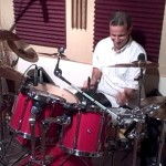 Drummer Todd Walker Single Pedal Doubles/Hands Speed Exercise