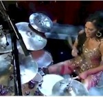 Sheila E on Drum Solo Week – Letterman