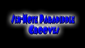 Six Note Paradiddle Drum Fill/Groove