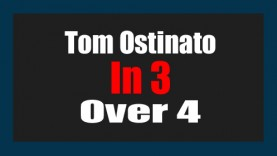 Tom Ostinato in 3 over a 4/4 Groove