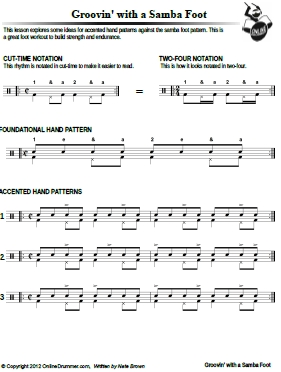 Drum jazz drum tabs : DRUM PATTERNS SHEET MUSIC | Free Patterns