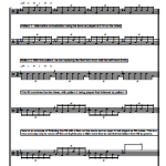Sextuplet Drum Fills – Sheet Music