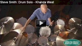 Steve Smith – Khanda West – Drum Solo